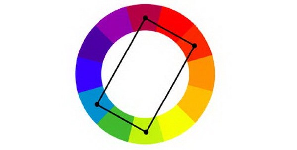 Cách phối màu bổ túc bộ bốn