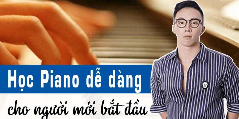 """Giảng viên Nguyễn Hà Linh dạy học đàn Piano qua khóa học """"Học piano dễ dàng cho người mới bắt đầu"""""""