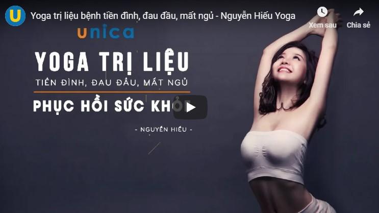 Cách dạy tập yoga của Nguyễn Hiếu