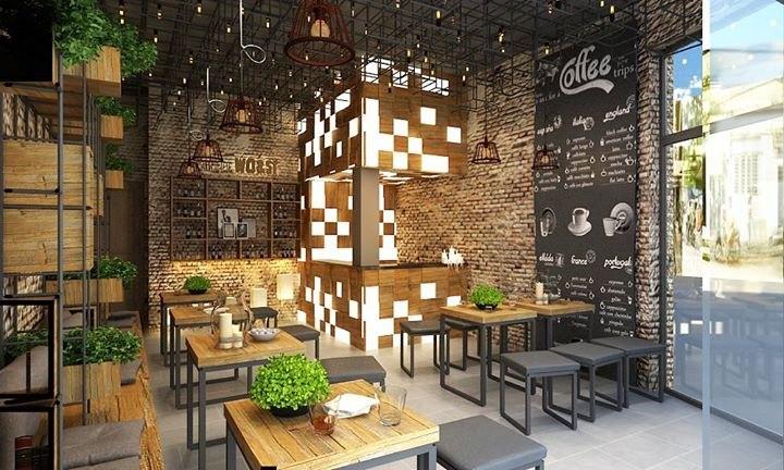 Cách decor quán cafe thu hút khách hàng