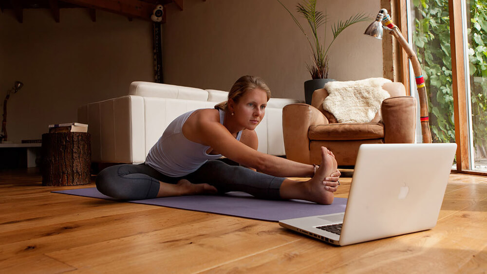 học yoga online tại nhà