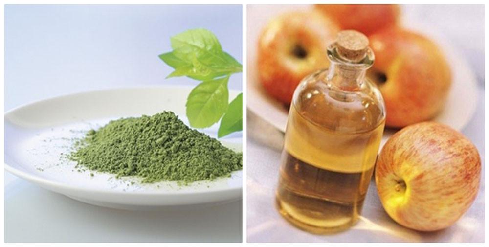 Làm mặt nạ trà xanh trị mụn dưỡng da đơn giản tại nhà