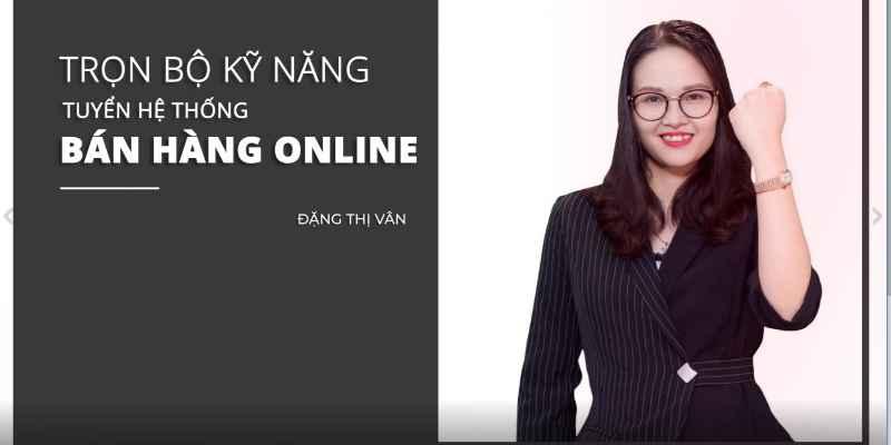 khóa học bán hàng online trên unica