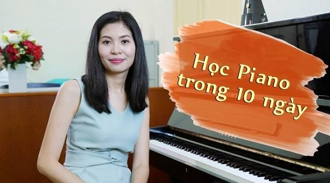 """Khóa học Piano """"Tự học Piano trong 10 ngày"""" trên UNICA"""