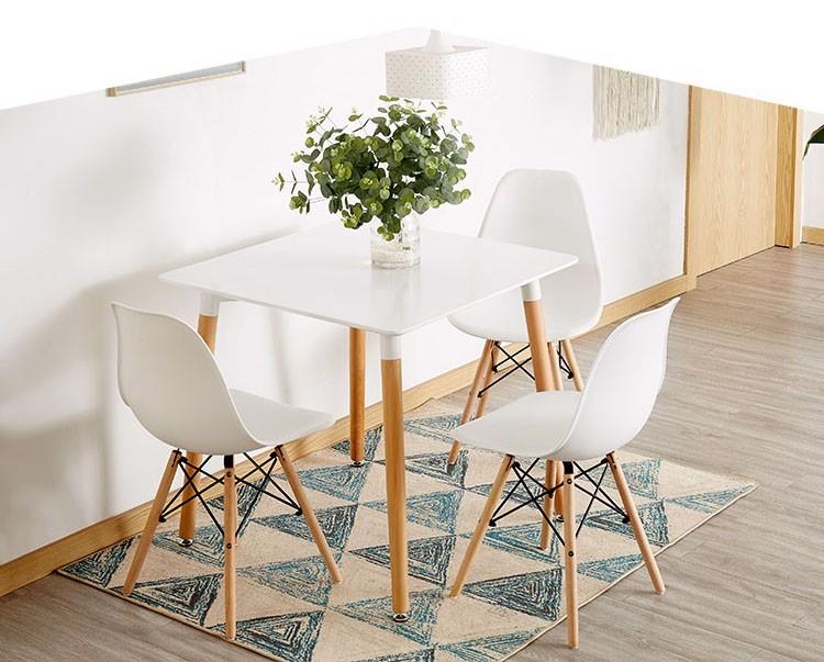 Tìm hiểu kích thước bàn ăn 4 người hình vuông