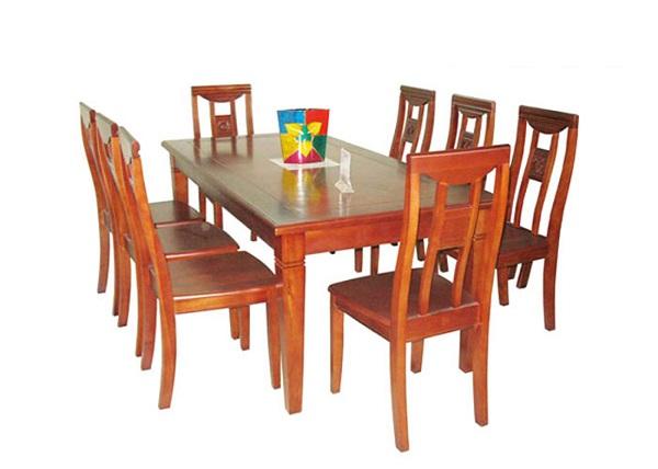 Kích thước bàn ăn 8 người
