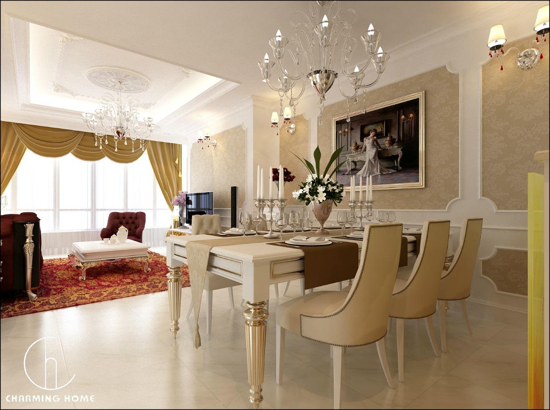 Đặc trưng của kiến trúc nội thất tân cổ điển