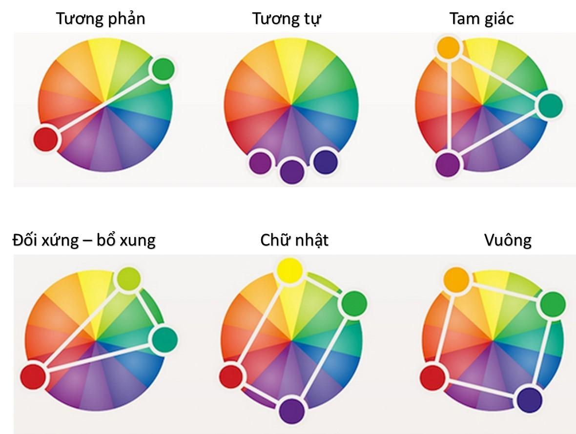Lý thuyết màu sắc cơ bản trong thiết kế
