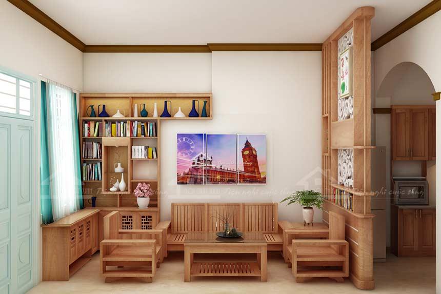 Nội thất gỗ - sản phẩm nội thất luôn bền đẹp với thời gian
