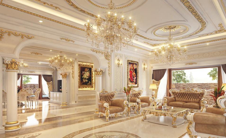 Thiết kế nội thất phòng kháchcần lưu ý gì