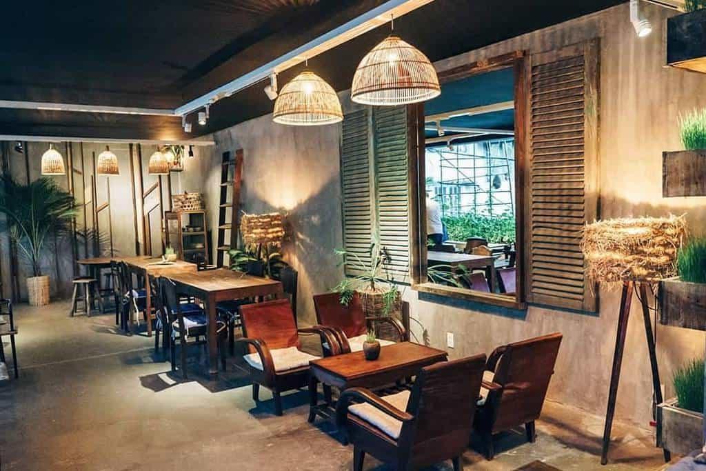 Thiết kế nội thất quán cafe theo phong cách Vintage