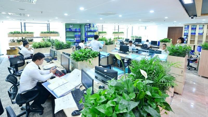 ý tưởng thiết kế nội thất văn phòng làm việc độc đáo