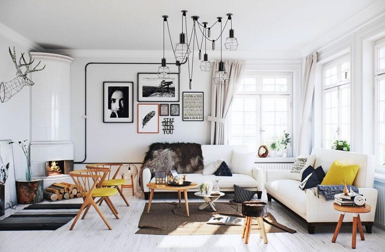 Màu sắc trang trí nội thất phòng khách