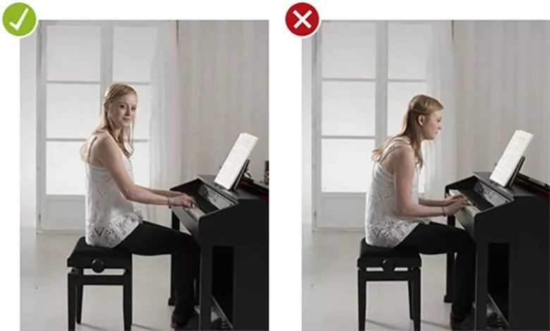 Lưu ý khi tự học piano tại nhà