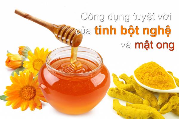 Uống nghệ với mật ong có đẹp da không