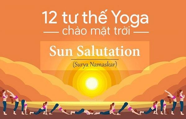 12 động tác yoga chào mặt trời