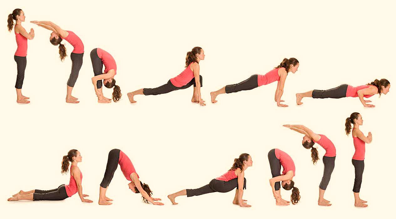 Bài tập yoga chào mặt trời được bắt nguồn từ Ấn Độ