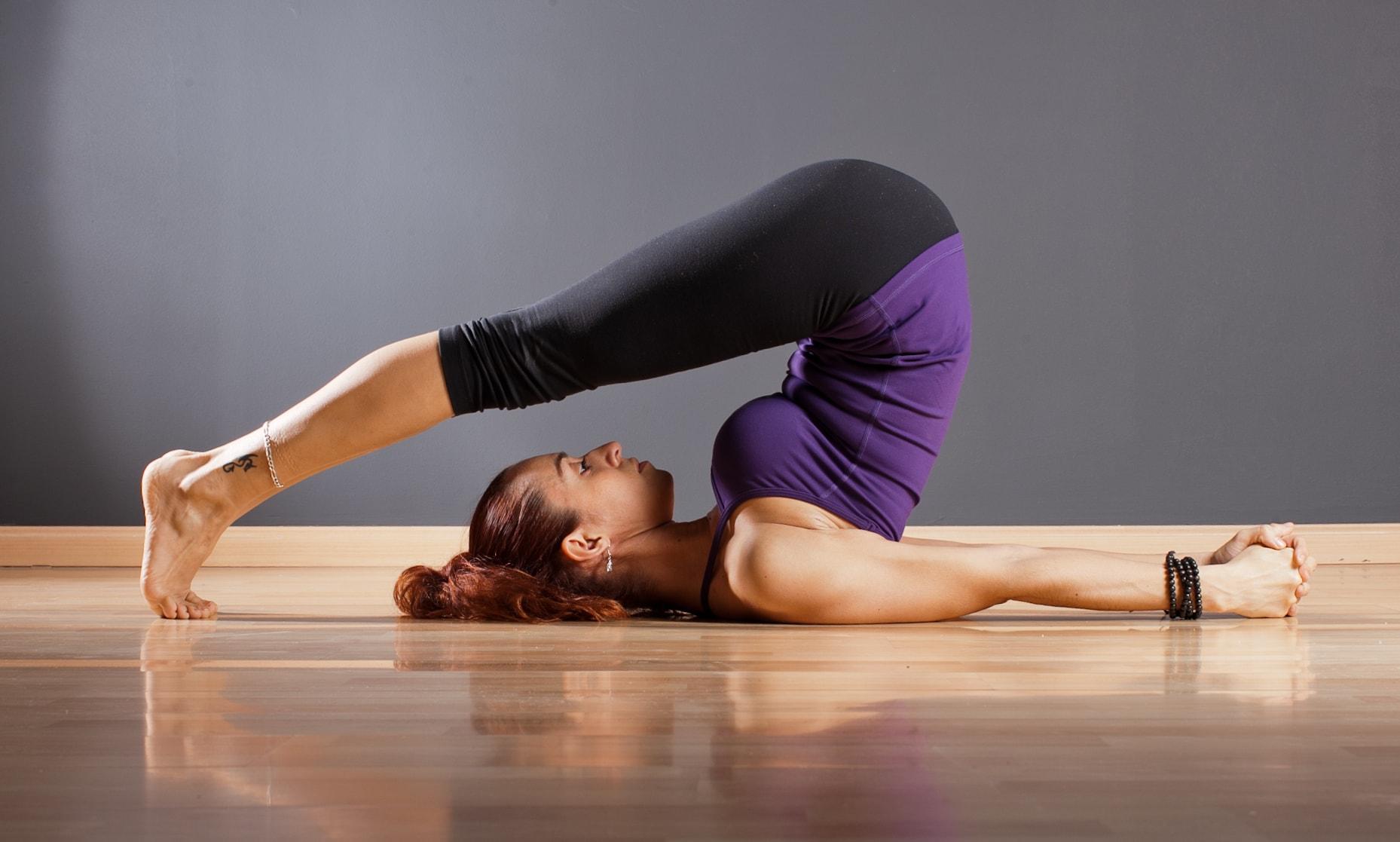 yoga poses Cái Cày