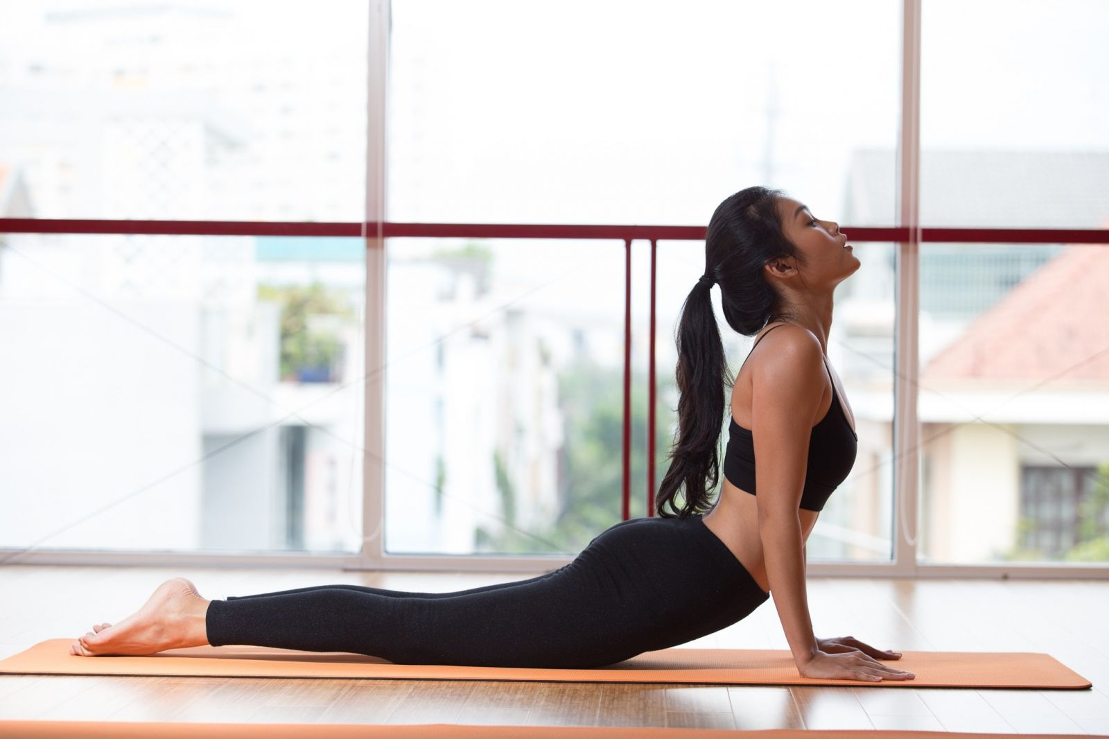 Yoga poses Rắn Hổ Mang