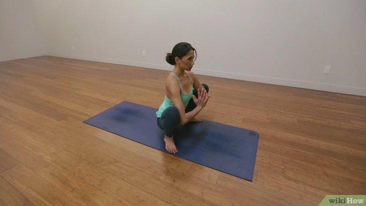 Chuẩn bị trước khi tập luyện Yoga tư thế Con Quạ