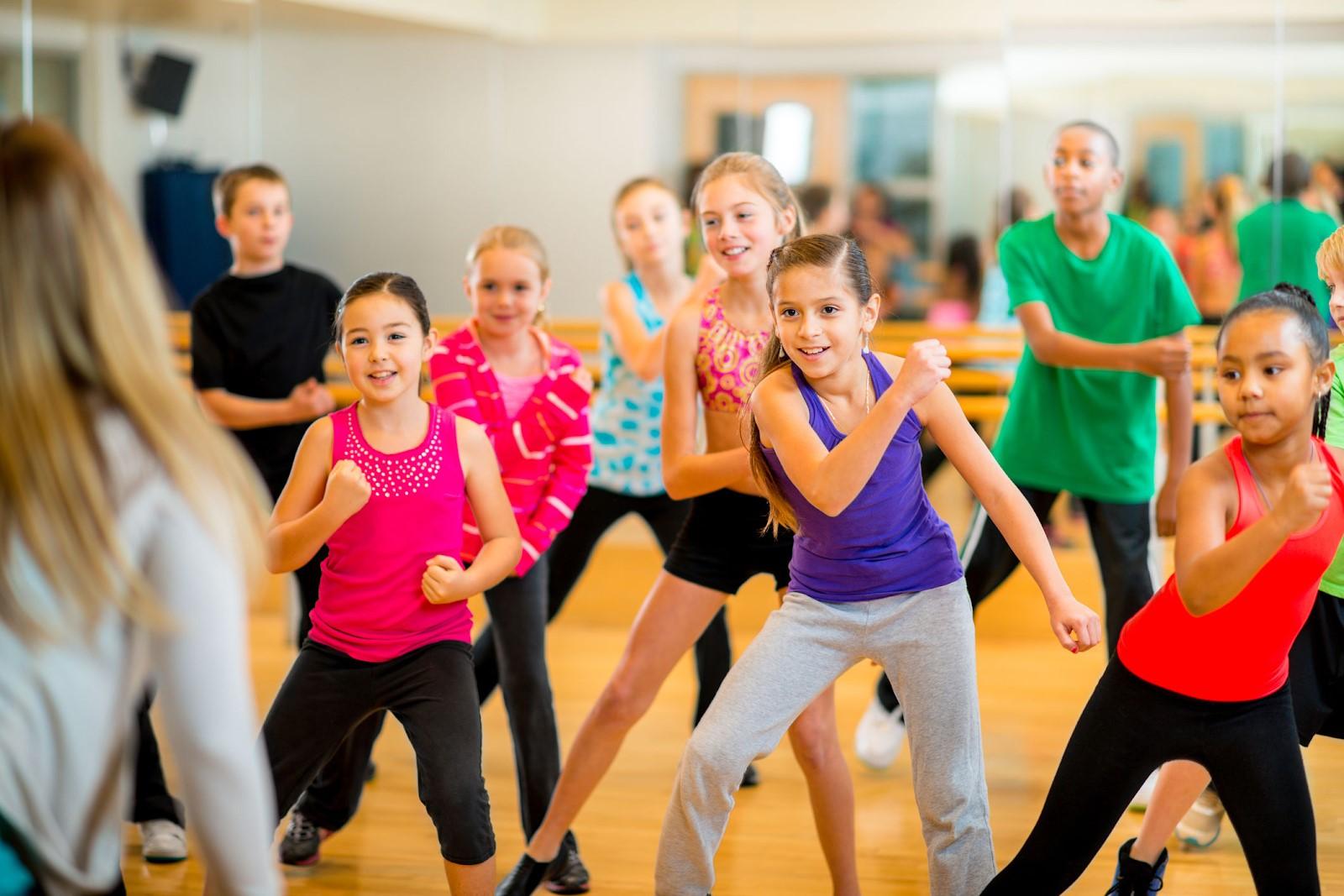 Các lớp học nhảy Zumba