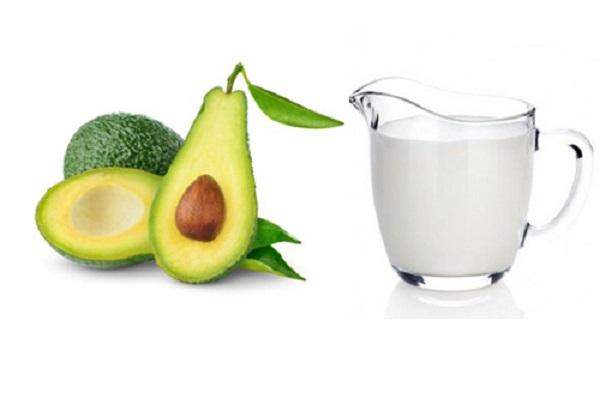 Mặt nạ bơ sữa tươi không đường trị mụn hiệu quả