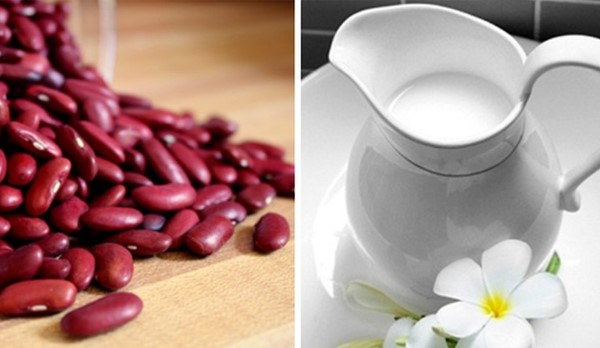 Trị mụn hiệu quả từ mặt nạ đậu đỏ sữa chua không đường