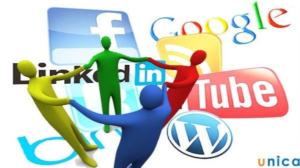 tạo các hồ sơ mạng xã hội và xây dựng các liên kết đến website doanh nghiệp của bạn