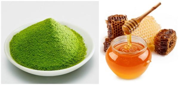 Mặt nạ trị nám từ trà xanh và mật ong hiệu quả