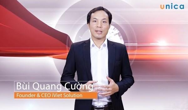 giảng viên Bùi Quang Cường