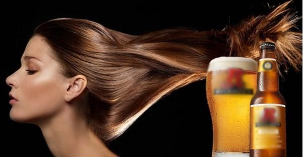 Sử dụng bia chăm sóc tóc sẽ giúp tóc dài nhanh chóng