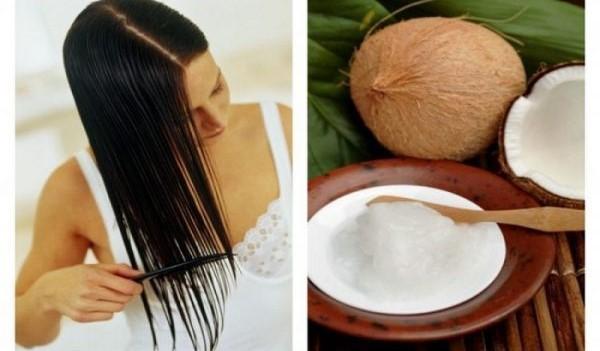 Dầu dừa thúc đẩy sự tăng trưởng của tóc, giúp ngăn tóc gãy rụng hiệu quả