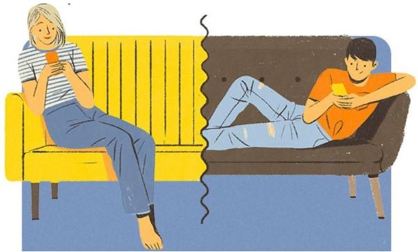 Bạn nên chủ động tạo chủ đề chung khi nhắn tin với bạn trai