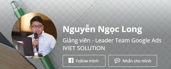 Giảng viên Nguyễn Ngọc Long