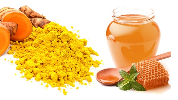 Mặt nạ mật ong tinh bột nghệ trị mụn hiệu quả