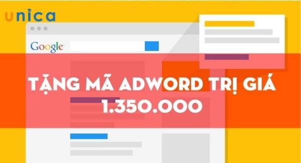 nhận voucher khuyến mãi trong quảng cáo google adwords