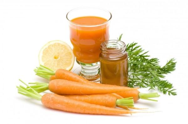 Mặt nạ cà rốt chanh và mật ong dưỡng da