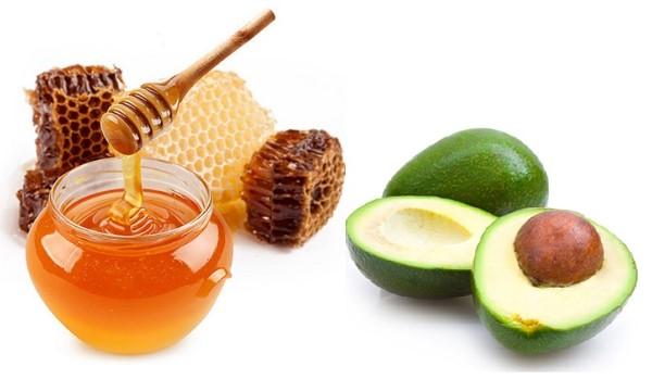 Kết hợp mật ong và bơ