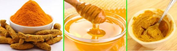 Mặt nạ tinh bột nghệ mật ong giúp da ngăn ngừa mụn hiệu quả