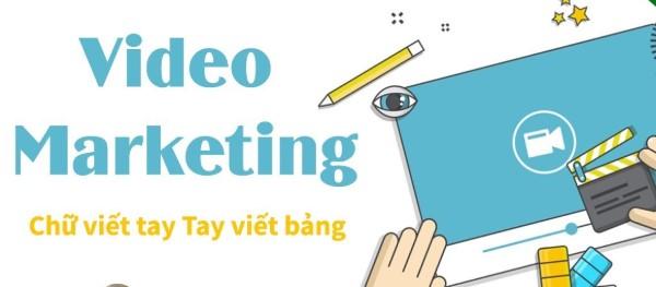 Video Marketing chữ viết tay