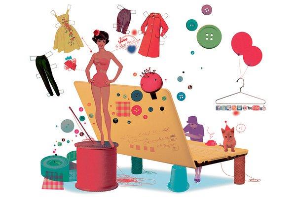 Kinh doanh thời trang, quần áo online