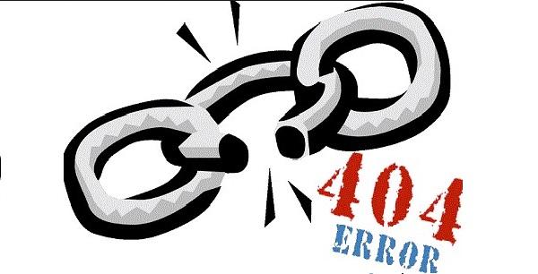 lỗi 404 gây hậu quả không tốt đến quá trình làm SEO