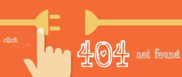 khắc phục lỗi 404 trong seo