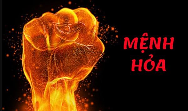 Người mang mệnh Hỏa là người có tính cách mạnh mẽ