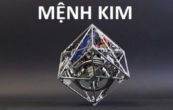 Hành Kim chỉ về sức mạnh, đại diện cho thể rắn và khả năng chứa đựng