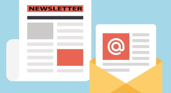 Newsletter là một bản tin trên website