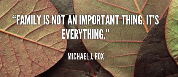 Gia đình không phải là một điều quan trọng nó là tất cả mọi thứ