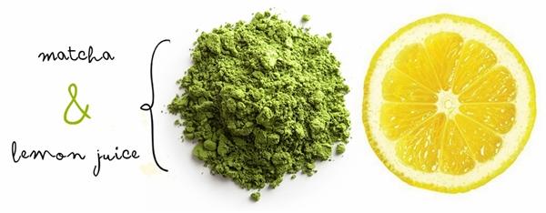 Mặt nạ trà xanh nước cốt chanh giúp trị thâm, nám hiệu quả